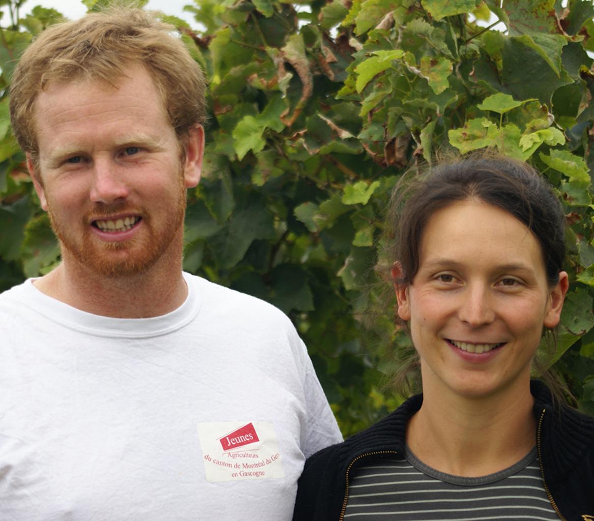 Muriel de Wit viticultrice en Gascogne Armagnac